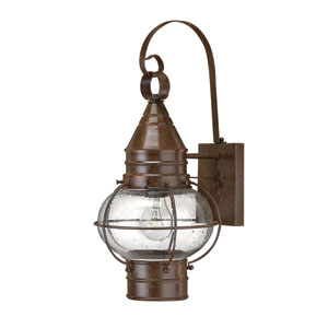 Cape Cod Medium Sienna Bronze Outdoor Wall Mount