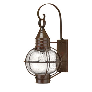 Cape Cod Large Sienna Bronze Outdoor Wall Mount