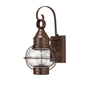 Cape Cod Small Sienna Bronze Outdoor Wall Mount