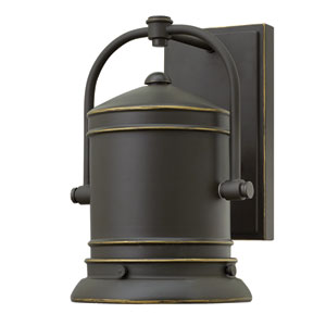 Pullman Oil Rubbed Bronze 10.5-Inch One-Light LED Outdoor Wall Sconce
