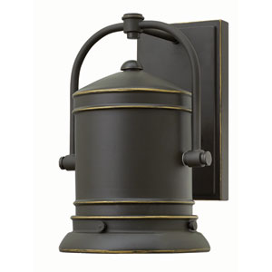Pullman Oil Rubbed Bronze 10.5-Inch Dark Sky One-Light Outdoor Wall Mounted