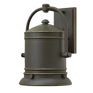 Pullman Oil Rubbed Bronze 13.5-Inch One-Light LED Outdoor Wall Sconce