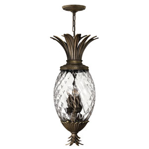 Plantation Pearl Bronze Outdoor Hanging Pendant