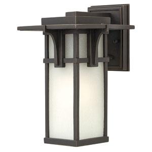 Manhattan Oil Rubbed Bronze 12-Inch One-Light Outdoor Lantern