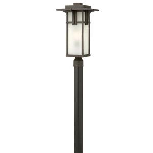 Manhattan Oil Rubbed Bronze 21.5-Inch One-Light Outdoor lantern