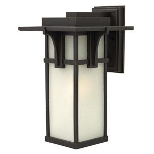 Manhattan Oil Rubbed Bronze 18.5-Inch One-Light Fluorescent Outdoor Lantern