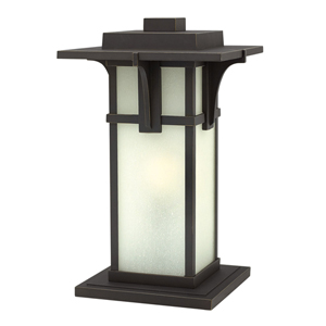 Manhattan Oil Rubbed Bronze One-Light LED Outdoor Post Mount