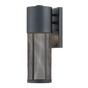 Aria Black 16-Inch Outdoor Wall Mount