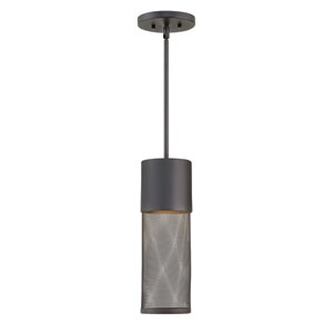 Aria Black LED Outdoor Pendant