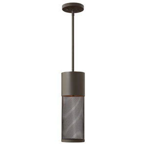 Aria Buckeye Bronze 19-Inch One-Light Outdoor Hanging Lantern