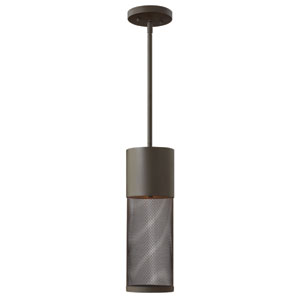 Aria Buckeye Bronze 19-Inch One-Light Outdoor Hanging Pendant