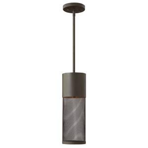 Aria Buckeye Bronze One-Light LED Outdoor Hanging Pendant