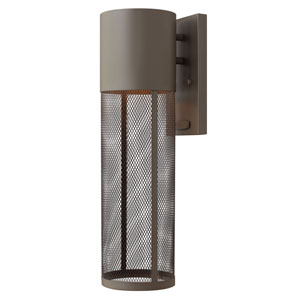 Aria Buckeye Bronze One-Light Outdoor Wall Sconce