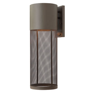 Aria Buckeye Bronze 22-Inch One-Light Outdoor Wall Lantern