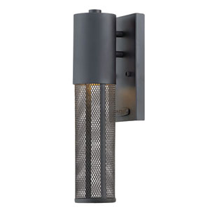 Aria Black 15-Inch Outdoor Wall Mount