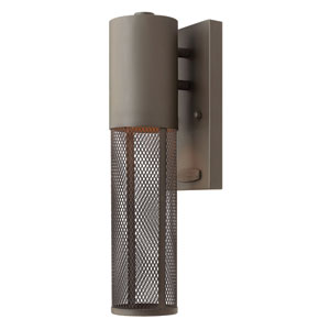 Aria Buckeye Bronze One-Light Outdoor Wall Lantern