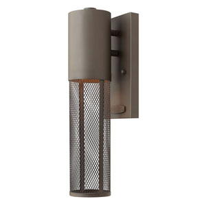Aria Buckeye Bronze 5-Inch One-Light Outdoor Mini Wall Mount