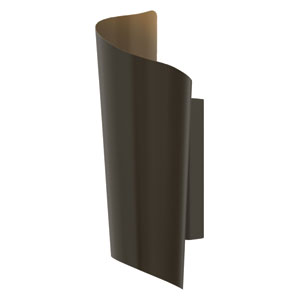 Surf Bronze Two Light LED Outdoor Wall Light