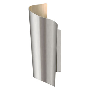 Surf Stainless Steel Two Light LED Outdoor Wall Light