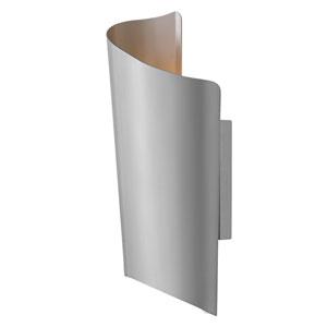 Surf Titanium 8-Inch LED Outdoor Medium Wall Mount