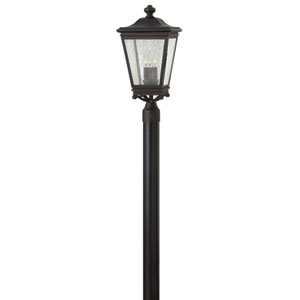 Lincoln Oil Rubbed Bronze Three-Light Outdoor Post Mount