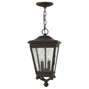 Lincoln Oil Rubbed Bronze Two-Light Outdoor Pendant