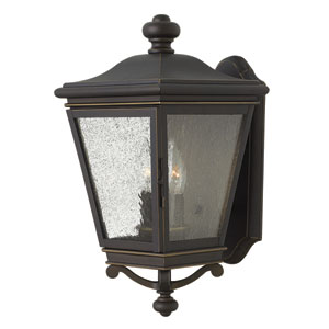 Lincoln Oil Rubbed Bronze Two-Light Outdoor Wall Sconce