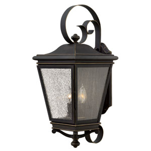 Lincoln Oil Rubbed Bronze 23.5-Inch Three-Light Outdoor Wall Sconce