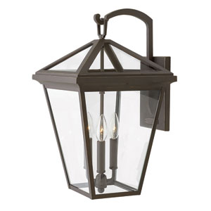 Alford Place Oil Rubbed Bronze 12-Inch Outdoor Wall Mount