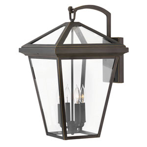 Alford Place Oil Rubbed Bronze Four-Light Outdoor Extra Large Wall Mount