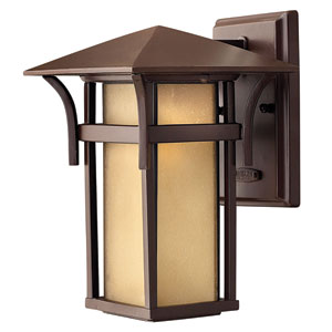 Harbor Small Fluorescent Outdoor Wall Mount