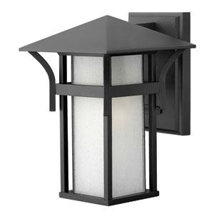 Harbor Satin Black One-Light Outdoor Wall Light