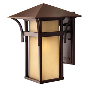 Harbor Large Fluorescent Outdoor Wall Mount