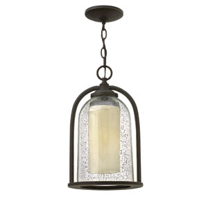 Quincy Oil Rubbed Bronze One-Light LED Outdoor Pendant