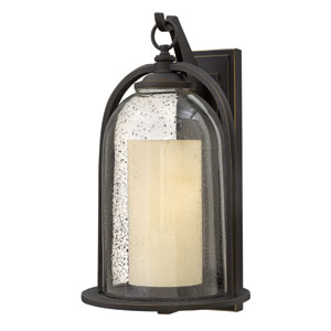 Quincy Oil Rubbed Bronze One-Light Outdoor Wall Sconce