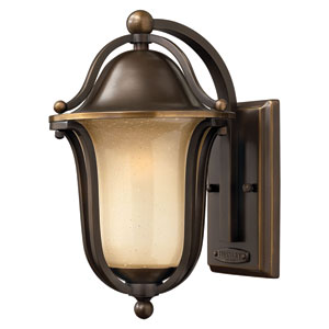 Bolla Olde Bronze 12.5-Inch One-Light LED Outdoor Wall Sconce