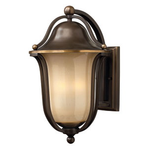 Bolla Olde Bronze Three-Light Fluorescent Outdoor Light