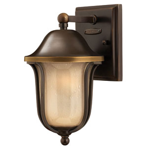Bolla Olde Bronze 11-Inch One-Light Fluorescent Outdoor Wall Sconce