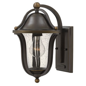 Bolla Olde Bronze 12.5-Inch One-Light Outdoor Wall Sconce