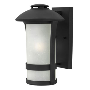 Chandler Black 14.5-Inch One-Light Outdoor Wall Mounted