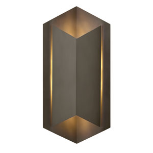 Lex Bronze 22-Inch One-Light Outdoor Wall Sconce