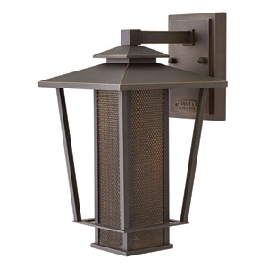 Theo Oil Rubbed Bronze 14-Inch LED Outdoor Wall Mount