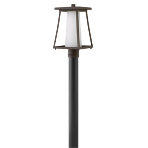 Burke Oil Rubbed Bronze Outdoor Post Mount