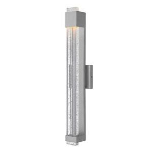 Glacier Titanium 28-Inch LED Outdoor Wall Mount