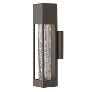 Vapor Bronze 14-Inch Outdoor Wall Mount