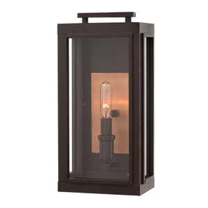 Sutcliffe Oil Rubbed Bronze One-Light Outdoor Wall Sconce