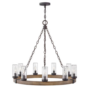 Sawyer Sequoia Nine-Light Outdoor Chandelier