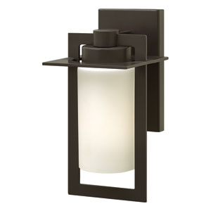 Colfax Bronze 12.5-Inch One-Light LED Outdoor Wall Sconce