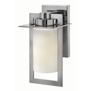 Colfax Polished Stainless Steel 6-Inch One-Light Outdoor Wall Mounted