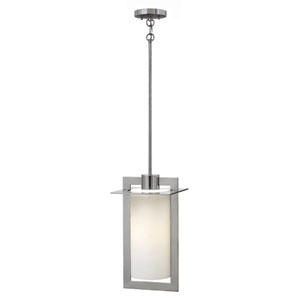 Colfax Polished Stainless Steel 19-Inch One-Light Outdoor Pendant
